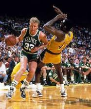 Larry Bird Gives 100 percent