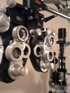 Scary Eye Measuring Machine