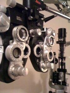 Scary Eye Measuring Machine