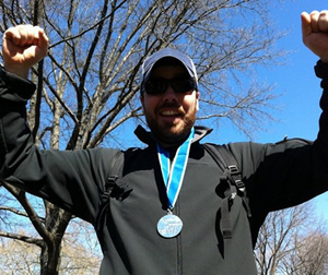 Adam Half Marathon Finish