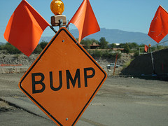 bump sign Richter scale