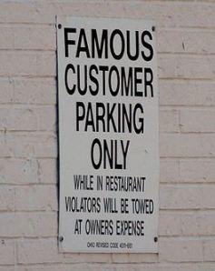 Famous Parking