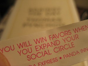 social circle fortune cookie
