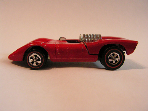 red toy car